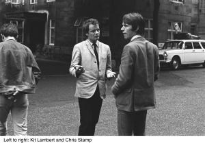 Photo of Chris STAMP and Kit LAMBERT