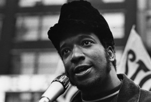 #10 Fred Hampton at Dirksen Federal Building. Photo courtesy of Paul Sequeira