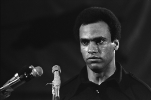 Huey Newton by Stephen Shames