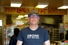 Baker-owner Howard Ryan stands for a portrait at the worker-owned cooperative Arizmendi Bakery in the Inner Sunset District on Wednesday, Dec. 19, 2018. (Kevin N. Hume/S.F. Examiner)