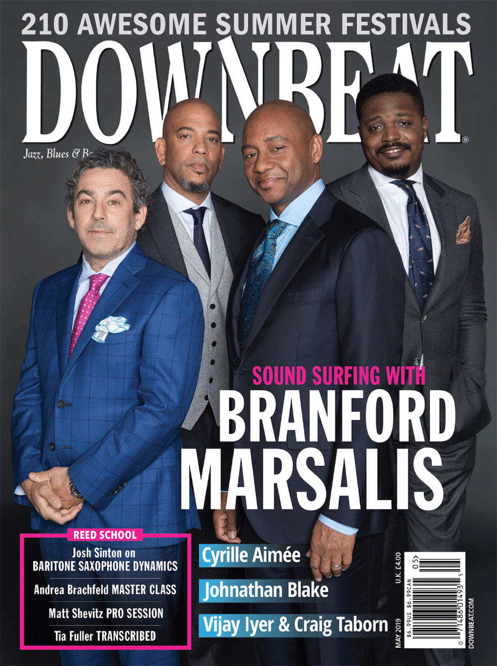 Jazz Appreciation Month Branford Marsalis Denise Sullivan